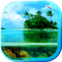 Paradise Beach je live wallpaper