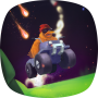 Mr. Drive Runner - race under the meteor shower