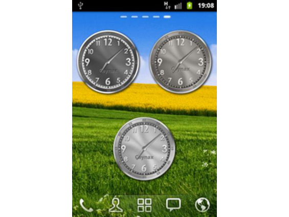 Download Caynax Analog Clock Widget Eureca 1 2 for android