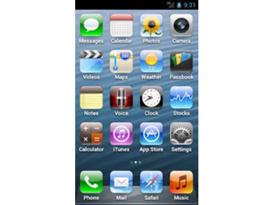 Скачать Тему 5 Айфон На Андроид - фото 11
